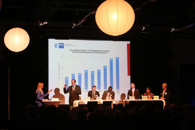 """+++ """"Parlamentarischer Abend"""" - Wirtschaft trifft auf Politik   Foto: Anja Jungnickel +++"""